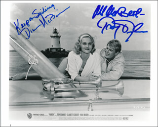 PARRISH MOVIE CAST - AUTOGRAPHED SIGNED PHOTOGRAPH CO-SIGNED BY: DIANE McBAIN, TROY DONAHUE