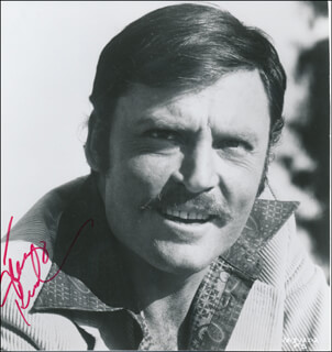 STACY KEACH - AUTOGRAPHED SIGNED PHOTOGRAPH