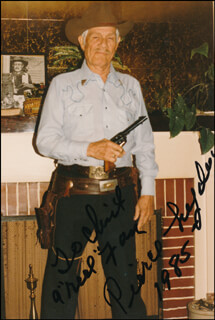PIERCE LYDEN - AUTOGRAPHED INSCRIBED PHOTOGRAPH 1985