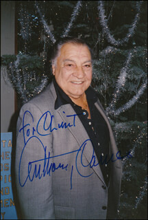 ANTHONY CARUSO - AUTOGRAPHED INSCRIBED PHOTOGRAPH