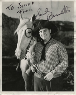 SMILEY (LESTER) BURNETTE - AUTOGRAPHED INSCRIBED PHOTOGRAPH  - HFSID 323773