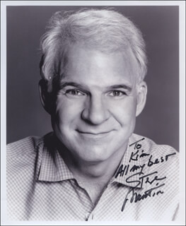 STEVE MARTIN - AUTOGRAPHED INSCRIBED PHOTOGRAPH