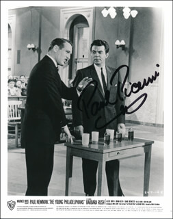PAUL PICERNI - AUTOGRAPHED SIGNED PHOTOGRAPH