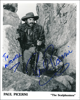 PAUL PICERNI - AUTOGRAPHED INSCRIBED PHOTOGRAPH