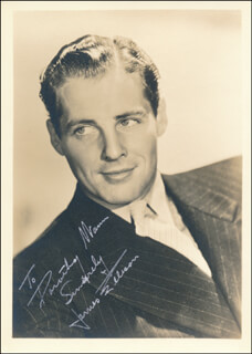 JAMES JIMMY ELLISON - AUTOGRAPHED INSCRIBED PHOTOGRAPH