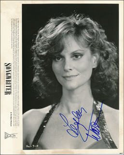 LESLEY ANN WARREN - PRINTED PHOTOGRAPH SIGNED IN INK