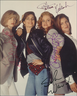 SISTERS TV CAST - AUTOGRAPHED SIGNED PHOTOGRAPH CO-SIGNED BY: PATRICIA KALEMBER, SWOOSIE KURTZ, SELA WARD, JULIANNE PHILLIPS