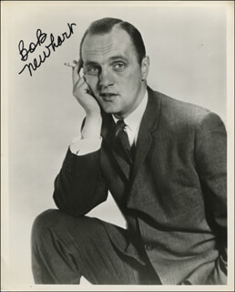 BOB NEWHART - AUTOGRAPHED SIGNED PHOTOGRAPH