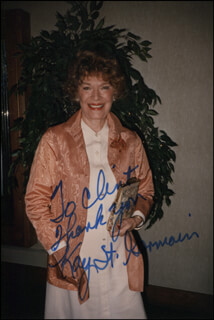 KAY ST. GERMAIN - AUTOGRAPHED INSCRIBED PHOTOGRAPH