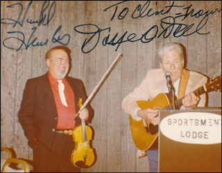 DOYE O'DELL - AUTOGRAPHED INSCRIBED PHOTOGRAPH