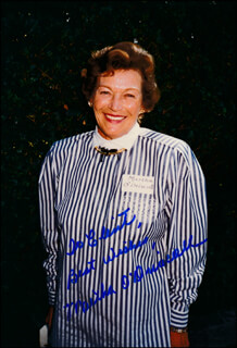 MARTHA O'DRISCOLL - AUTOGRAPHED INSCRIBED PHOTOGRAPH