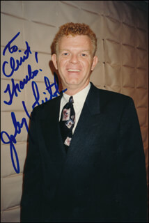 JOHNNY WHITAKER - AUTOGRAPHED INSCRIBED PHOTOGRAPH