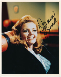 DEANNA LUND - AUTOGRAPHED SIGNED PHOTOGRAPH