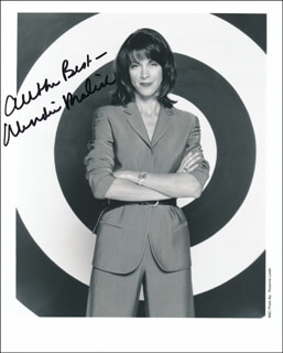 WENDIE MALICK - AUTOGRAPHED SIGNED PHOTOGRAPH