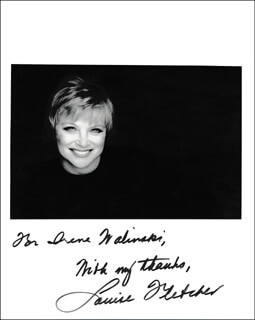 LOUISE FLETCHER - AUTOGRAPHED INSCRIBED PHOTOGRAPH