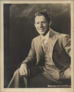 RUDY VALLEE - AUTOGRAPHED SIGNED PHOTOGRAPH