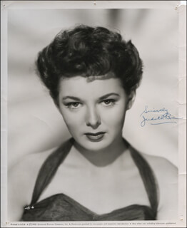 JUDITH BRAUN - AUTOGRAPHED SIGNED PHOTOGRAPH