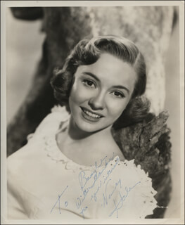 NANCY HALE - AUTOGRAPHED INSCRIBED PHOTOGRAPH