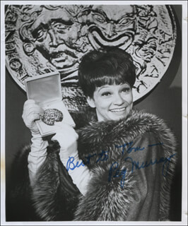 PEG MURRAY - AUTOGRAPHED INSCRIBED PHOTOGRAPH