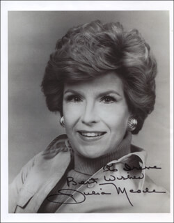 JULIA MEADE - AUTOGRAPHED INSCRIBED PHOTOGRAPH