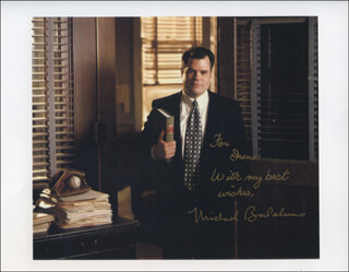 MICHAEL BADALUCCO - AUTOGRAPHED INSCRIBED PHOTOGRAPH