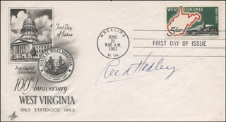 REED HADLEY - FIRST DAY COVER SIGNED