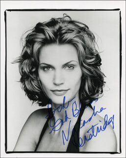 NATASHA HENSTRIDGE - AUTOGRAPHED INSCRIBED PHOTOGRAPH