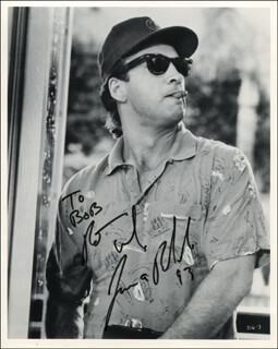 JAMES BELUSHI - AUTOGRAPHED INSCRIBED PHOTOGRAPH 1993
