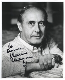 HENRY MANCINI - AUTOGRAPHED INSCRIBED PHOTOGRAPH