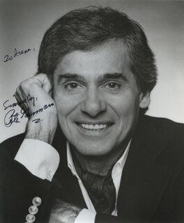 PETER GENNARO - AUTOGRAPHED INSCRIBED PHOTOGRAPH