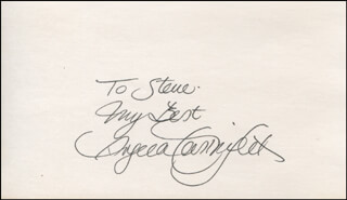 ANGELA CARTWRIGHT - AUTOGRAPH NOTE SIGNED