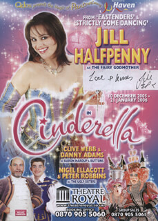 JILL HALFPENNY - ADVERTISEMENT SIGNED