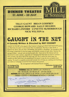 SALLY HUGHES - ADVERTISEMENT SIGNED