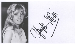 HAYLEY MILLS - PRINTED PHOTOGRAPH SIGNED IN INK