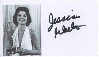 JESSICA WALTER - PRINTED PHOTOGRAPH SIGNED IN INK