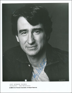 SAM WATERSTON - PRINTED PHOTOGRAPH SIGNED IN INK