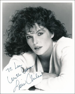 LOIS CHILES - AUTOGRAPHED INSCRIBED PHOTOGRAPH