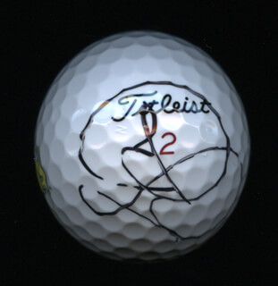 JASON DAY - GOLF BALL SIGNED