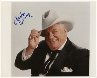 CHARLES DURNING - AUTOGRAPHED SIGNED PHOTOGRAPH