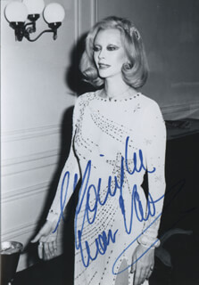 MONIQUE VAN VOOREN - AUTOGRAPHED SIGNED PHOTOGRAPH