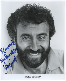 YAKOV SMIRNOFF - INSCRIBED PRINTED PHOTOGRAPH SIGNED IN INK