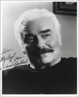 RICHARD BRADFORD - AUTOGRAPHED INSCRIBED PHOTOGRAPH