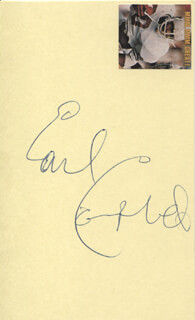 EARL CAMPBELL - AUTOGRAPH