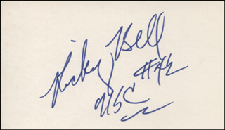 Autographs: RICKY BELL - SIGNATURE(S)