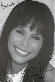 TRACEY ROSS - AUTOGRAPHED INSCRIBED PHOTOGRAPH