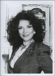 DIXIE CARTER - AUTOGRAPHED INSCRIBED PHOTOGRAPH