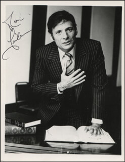 RON LEIBMAN - AUTOGRAPHED SIGNED PHOTOGRAPH