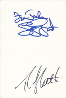 THE GATLIN BROTHERS - INSCRIBED SIGNATURE CO-SIGNED BY: THE GATLIN BROTHERS (LARRY GATLIN), THE GATLIN BROTHERS (RUDY GATLIN)