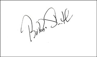 BUBBA (CHARLES) SMITH - AUTOGRAPH