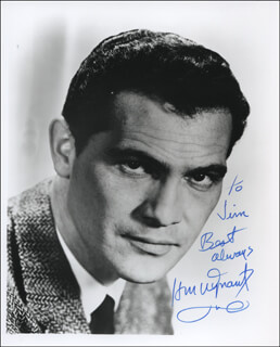 H.M. WYNANT - AUTOGRAPHED INSCRIBED PHOTOGRAPH